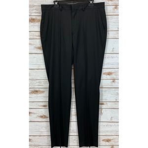 Kenneth Cole Reaction Modern-Fit Flat-Front Pant